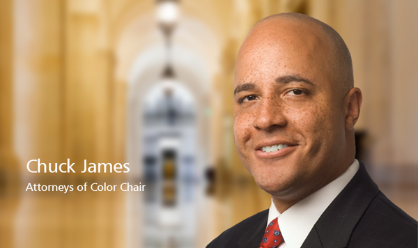 Chuck James - Attorneys of Color Chair