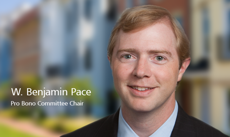 W. Benjamin Pace - Pro Bono Committee Chair